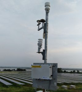 solar weather sensors