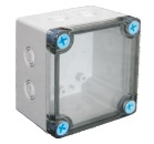 thermoplastic enclosure basic series 0808T knockout