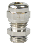 cable gland nickel plated brass