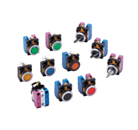 22mm CW series switches pilot devices
