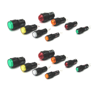 8mm AP series pilot lights